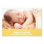 Invitación intrépida del nacimiento del bebé