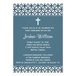 Invitación/invitación azules de la comunión