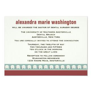 Invitación/invitación de la graduación de la invitación 12,7 x 17,8 cm