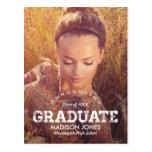Invitación /Invitation de la graduación del gradua
