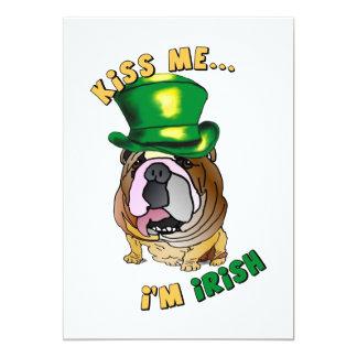 Invitación irlandesa del dogo