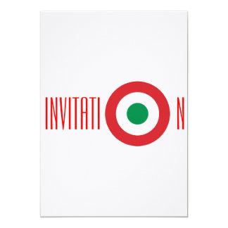 Invitación italiana invitación 12,7 x 17,8 cm