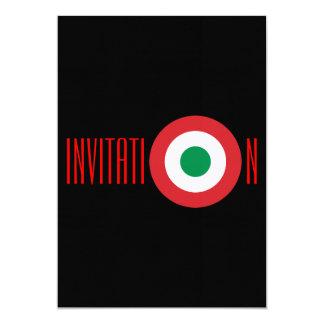 Invitación italiana personalizada