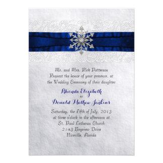 Invitación Jeweled elegante del boda del copo de n