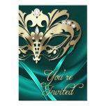 Invitación Jeweled trullo del fiesta de la