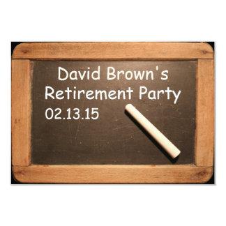 Invitación jubilada del personalizado del fiesta
