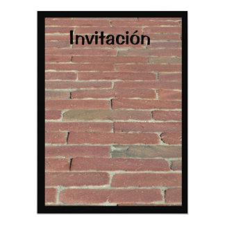 Invitación - Ladrillo Rojo