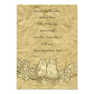 Invitación lamentable del fiesta del pergamino del invitación 12,7 x 17,8 cm