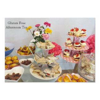 Invitación libre del fiesta del gluten