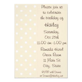 Invitación ligera de la fiesta de cumpleaños del