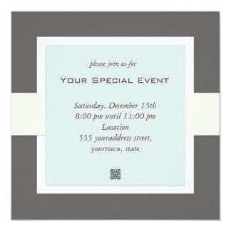 Invitación limpia y simple del acontecimiento del