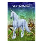 Invitación linda de la fantasía de la puerta del invitación 12,7 x 17,8 cm