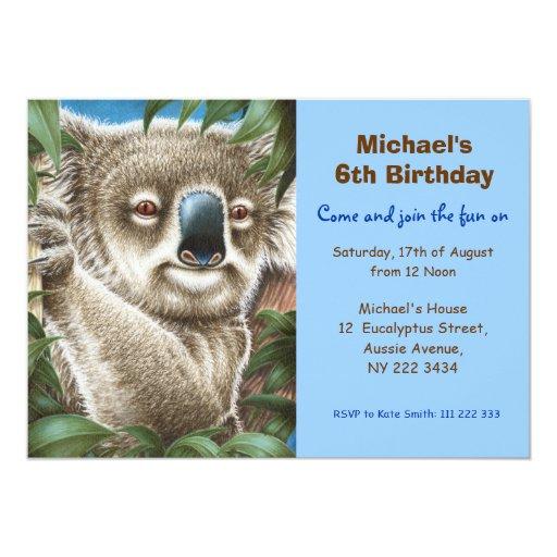 Invitación linda de la fiesta de cumpleaños de la