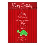 Invitación linda de la tortuga
