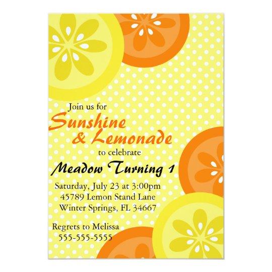 Invitación linda del fiesta de la sol y de la