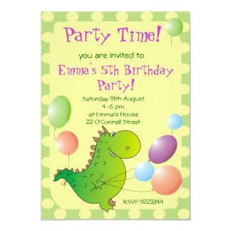 Invitación linda del fiesta de los niños del