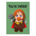 Invitación linda del Thor