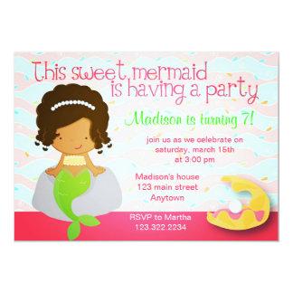 Invitación linda moderna de la fiesta de
