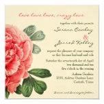 Invitación loca del amor invitación 13,3 cm x 13,3cm