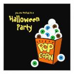 Invitación loca del fiesta de Halloween de los