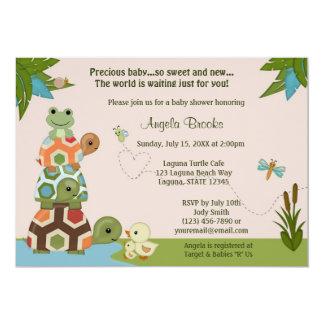 Invitación LTC de la fiesta de bienvenida al bebé Invitación 12,7 X 17,8 Cm