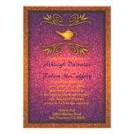 Invitación mágica colorida 2 del boda de la lámpar