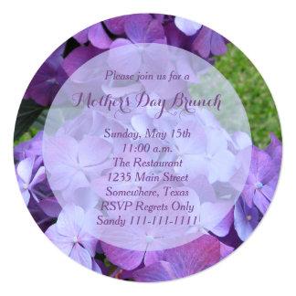 Invitación magnífica del brunch del día de madres