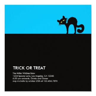 Invitación maliciosa del fiesta de Halloween