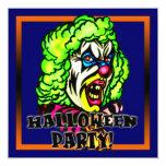 Invitación malvada del fiesta de Halloween del Invitación 13,3 Cm X 13,3cm