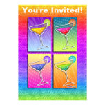 Invitación - Margaritas del arte pop