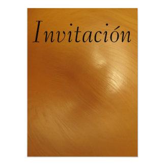 Invitación - Marrón Card