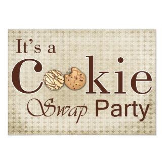 invitación marrón rústica del fiesta del