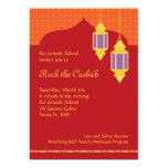 Invitación marroquí de la gala de la recaudador de