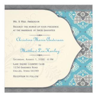 Invitación marroquí del boda