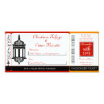 Invitación marroquí del boda del documento de invitación 10,1 x 23,5 cm