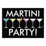 Invitación - martinis que van, el ir, IDO