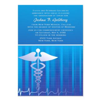 Invitación médica del gráfico