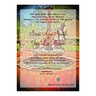 Invitación mexicana al sudoeste del boda de la invitación 11,4 x 15,8 cm