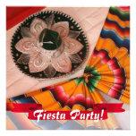Invitación mexicana del fiesta de la fiesta del so