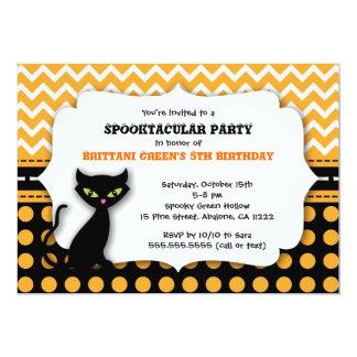 Invitación moderna de la fiesta de cumpleaños de