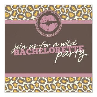 Invitación moderna del fiesta de Bachelorette de