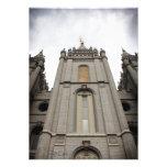 invitación mormona del templo del ut de Salt Lake