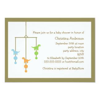 Invitación móvil de la fiesta de bienvenida al