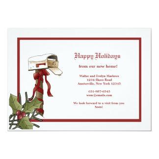 Invitación móvil del buzón del navidad