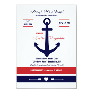 Invitación náutica del amor 2