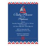 Invitación náutica moderna de la fiesta de bienven