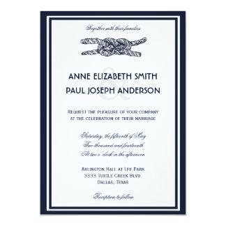 Invitación náutica VI del boda