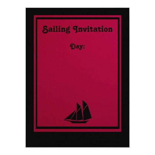 Invitación - navegando lejos