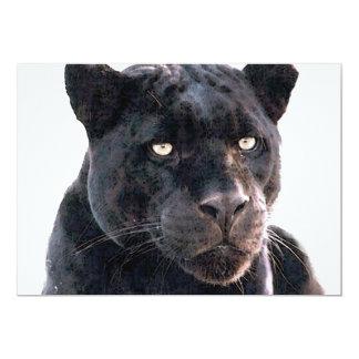 Invitación negra de Jaguar