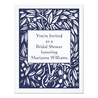 Invitación nupcial de la ducha de Beardsley